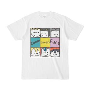 ジョジョのブサかわTシャツ【Zoom Face】