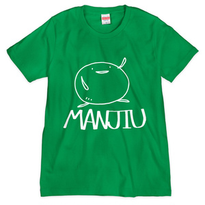 Tシャツ - MANJIU(緑)