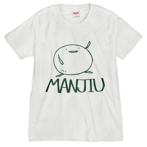 Tシャツ - MANJIU(白)