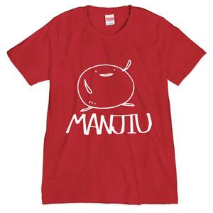 Tシャツ - MANJIU(赤)