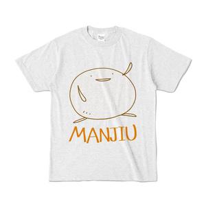 カラーTシャツ - MANJIU(淡灰)
