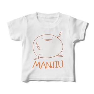 キッズTシャツ - MANJIU(白)
