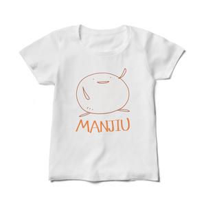 レディースTシャツ - MANJIU(白)