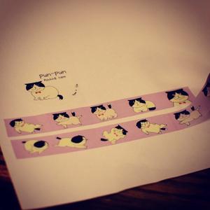 pun-pun オリジナルマスキングテープ