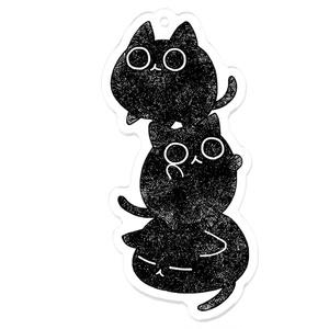 けだま猫-アクキー
