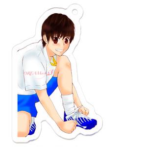 【アクリルキーホルダー】サッカー少年