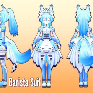 VRアバター用オリジナルモデルBattle Barista Xihifan「シーフェン 」[Quest対応][Ambr対応]Version2.2