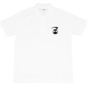 10万人記念デザイン公式刺繍ポロシャツ type13B