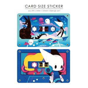カードサイズステッカーセット