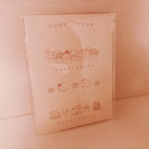 スイーツメッセージカード