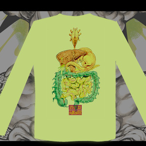 内臓怪獣・長袖Tシャツ