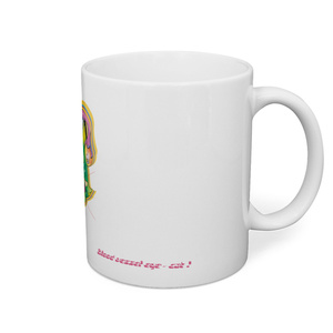 目玉血管ネコマグカップ