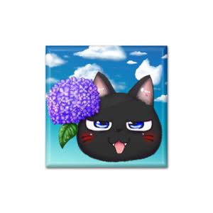 黒猫兄弟~兄と紫陽花~