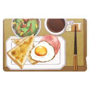阿良々木家の朝食