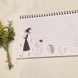 A5サイズ・オリジナルリング綴じノート