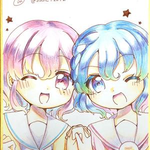 ドロシー&レオナ♡直筆色紙