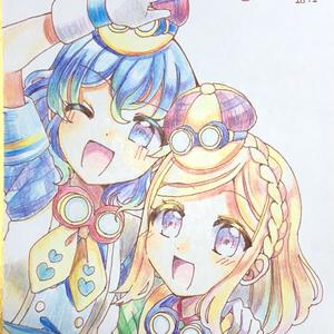 ドロシー&ふわり♡直筆色紙