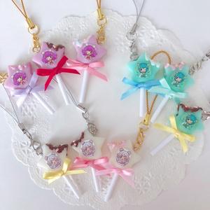 キュアミルキー☆キャンディーポップストラップ