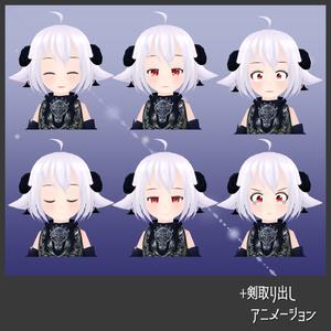 【公開停止】 オリジナル3Dモデル【メリエーテ】