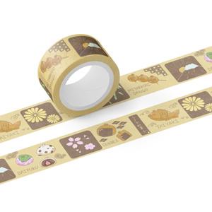 うさぎの和菓子マスキングテープ