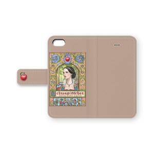 iPhone 手帳型ケース 白雪姫