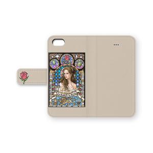 iPhone 手帳型ケース 美女と野獣