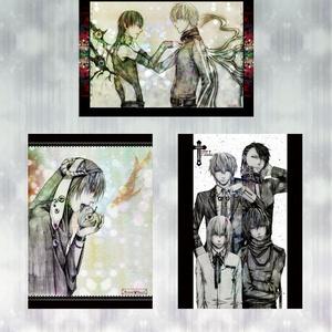 【SALE】オリジナルA4ポスター3枚セット