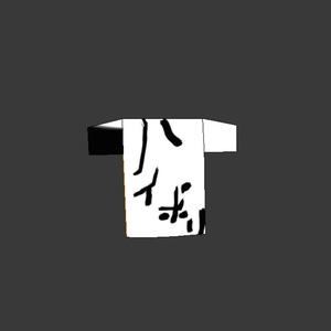 ハイポリTシャツ