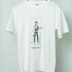 テレキャスターガールTシャツ