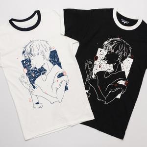 融解する世界Tシャツ