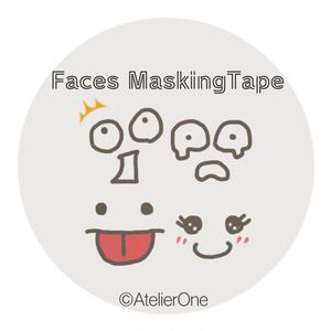 マスキングテープ-Faces-