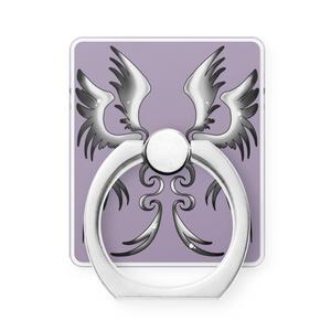 スマホリング-silver wing-