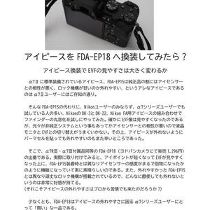 JC Junk Camera No.8 SONY α7Ⅱの凱旋