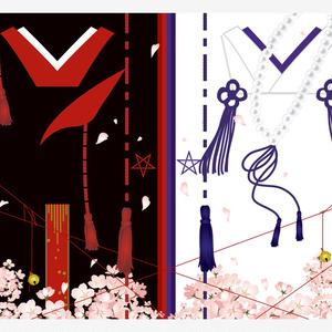 【単品】星昴 和モダンブランケット(両面印刷)