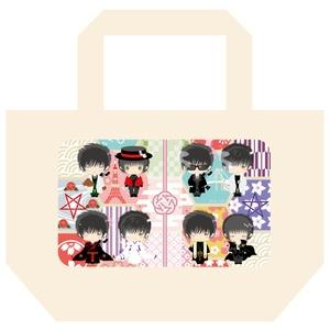 【単品】星昴 和モダンランチトートバッグ(片面印刷)