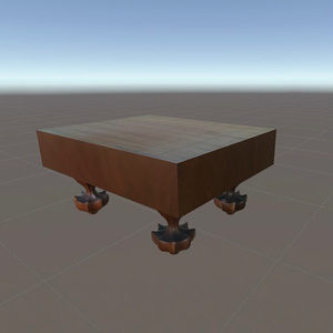 将棋盤 3Dモデル