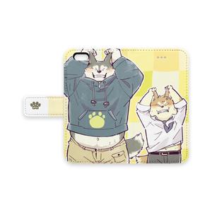 コウ君フクちゃんiPhoneケース2