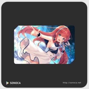 『キャラトーク』オリジナル楽曲DLカード