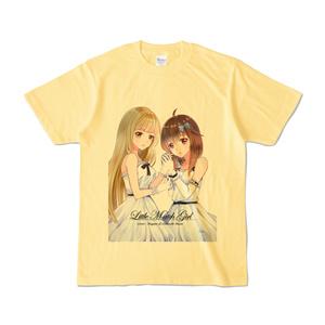 はがね&むおん カラーTシャツ ライトイエロー(XL/L/M/S)