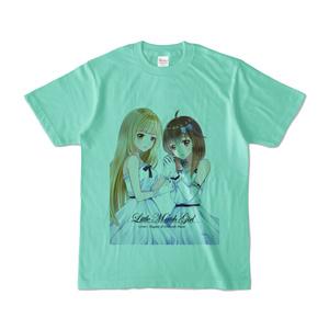 はがね&むおん カラーTシャツ アイスグリーン(XL/L/M/S)