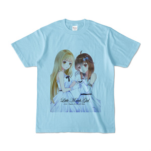 はがね&むおん カラーTシャツ ライトブルー(XL/L/M/S)