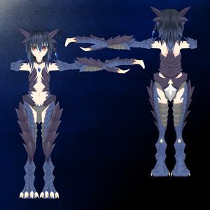 3/8Vマケ2発売 3Dモデル「ドラゴノイド」