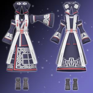 [VRChat向け]北国の巫女服