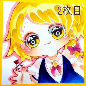 【東方】魔理沙ちゃんミニ原画