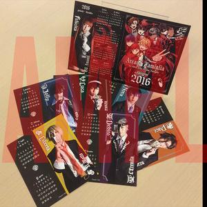 『アルカナ・ファミリア』2016カレンダー