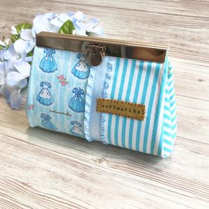 手のひらサイズの折財布 【Alice】