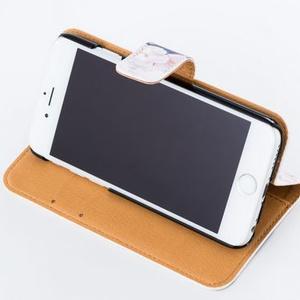 ハシビロコウ 手帳型iPhoneケース(改良版) iPhone5~8用