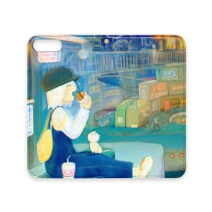 手帳型iPhoneケース:いただきま~す!
