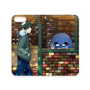手帳型iPhoneケース:秋くらー