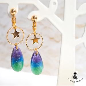 Starry sky ピアス/イヤリング